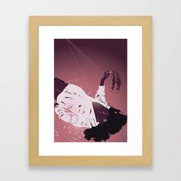 The Dream of Angels Dreaming of Men Framed Art Print