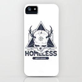 Homeless Skull #1 iPhone Case