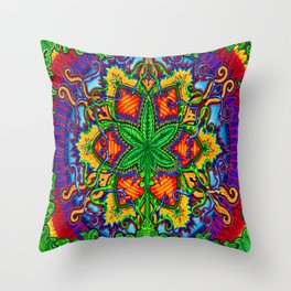 Herbal Cure Throw Pillow