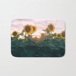 Sunflower Sunset Bath Mat