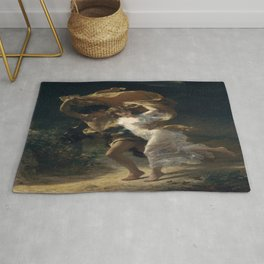 Pierre Auguste Cot's The Storm Rug