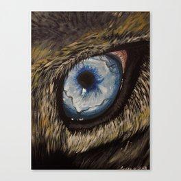 A wolf's soul Canvas Print