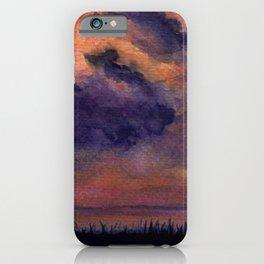Sunset on Harbor Island iPhone Case
