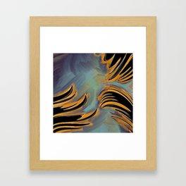 Grabbing Hands Framed Art Print