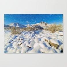 Saddlerock Canvas Print