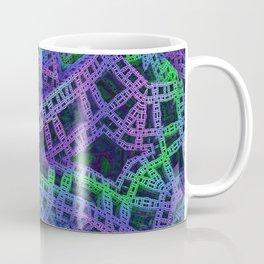 Green and purple film ribbons Coffee Mug