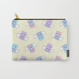 Press Heart to Continue Carry-All Pouch