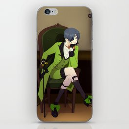 """I found your character quite interesting"" iPhone Skin"