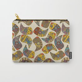 love bird paisley Carry-All Pouch