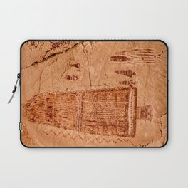 Great Gallery Pictograph Close-up Canyonlands National Park - Utah Laptop Sleeve