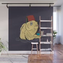 Night of the Cuppa Wall Mural