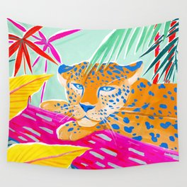 Vibrant Jungle Wall Tapestry