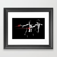 Meth Fiction Framed Art Print