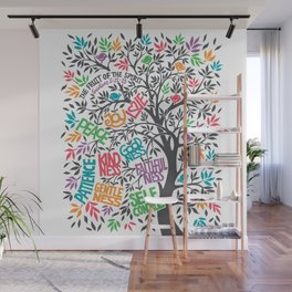 Fruit Of The Spirit (Full Color) Wall Mural