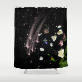 Starfall Shower Curtain