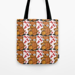 Mom's Bear Love Tote Bag