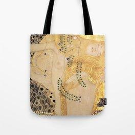 WATER SNAKES II, THE HYDRA - GUSTAV KLIMT  Tote Bag