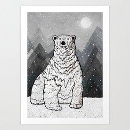 Polar Bear Kunstdrucke