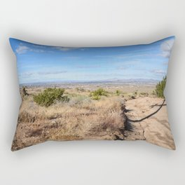 Clouds and Shadows Cast in the California Desert Rectangular Pillow