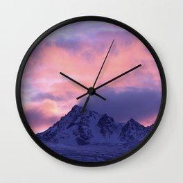 Rose Serenity Sunrise III Wall Clock