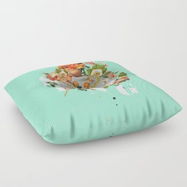 Spring Floor Pillow