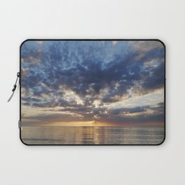 Sunset Over Clearwater Beach Laptop Sleeve