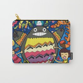 Totorotoro Madness Catbus Meownificent Awesomeness Carry-All Pouch