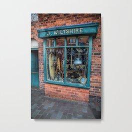 Victorian Pawnbrokers Metal Print