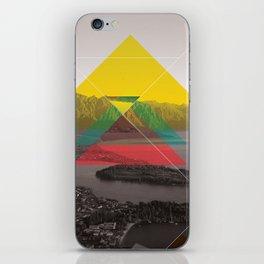 Sojourn series - Queenstown iPhone Skin