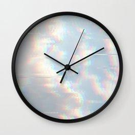 dream clouds Wall Clock