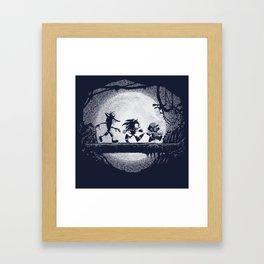 Jumpmen Framed Art Print