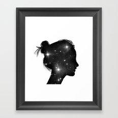 Star Sister Framed Art Print