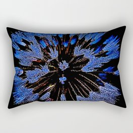 Dew On Dandelion, Wild Mandala Rectangular Pillow
