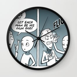Deal With It Wall Clock