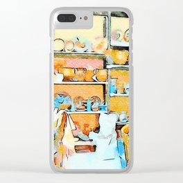 Ceramist craftsman Clear iPhone Case