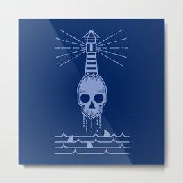 dangerous sea Metal Print