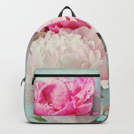 3 peonies Backpack