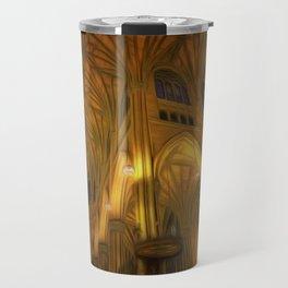 Cathedral Golden Light Travel Mug