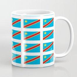 Flag of drc-rdc,congo,congolese,congolais,congolaise,kinshasa Coffee Mug