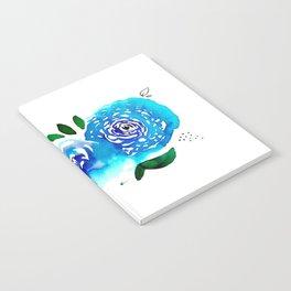 Three Blue Christchurch Roses Notebook