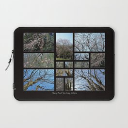 Cherry Don't You Weep No More (Collage) Laptop Sleeve
