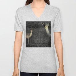 Fallow deer Unisex V-Neck
