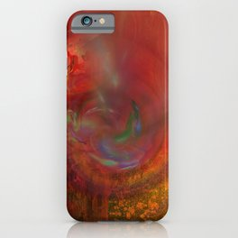 Irma storm iPhone Case