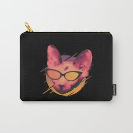 Cool Party Cat Carry-All Pouch