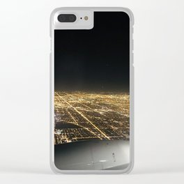 Bright Lights of Chicago Clear iPhone Case