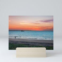 Sunset in Darwin, Australia Mini Art Print