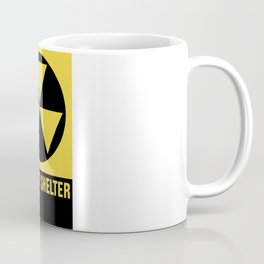 Fallout Shelter Sign Coffee Mug