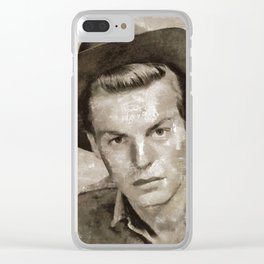Robert Wagner by MB Clear iPhone Case