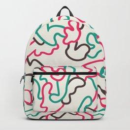 Fantasy pattern. Colour #1. Backpack