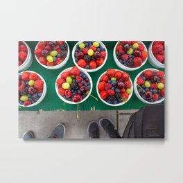 Fruity Delights Metal Print
